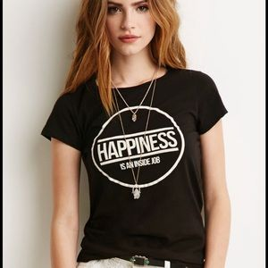 F21 graphic tee